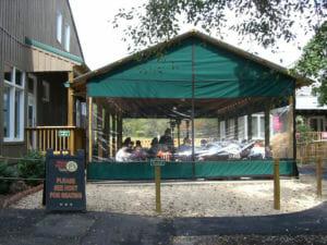 Insulating porch panels
