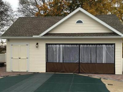 How to turn garage into three season room