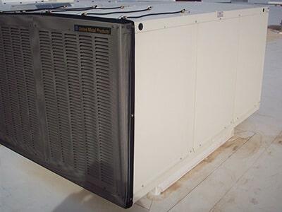 Mesh Filter keeps a/c unit clean