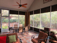 DIY Winter Porch Enclosures are a great way to protect porch and patio