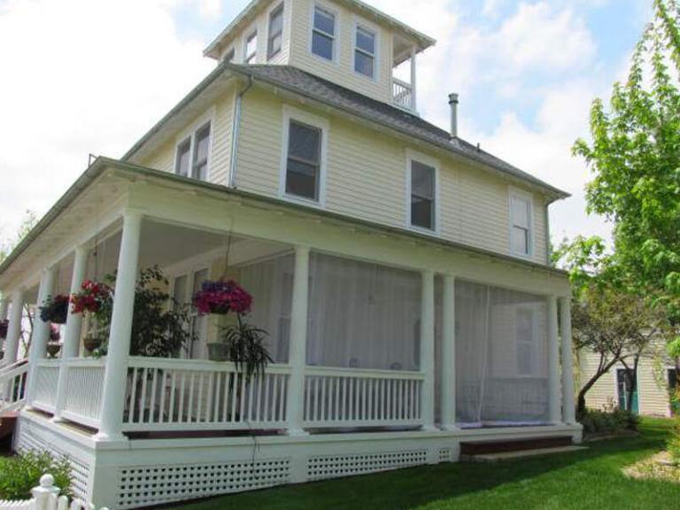White Porch Curtains 1
