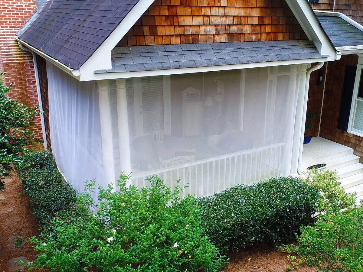 Screen Patio Enclosures to Prevent Mosquitos