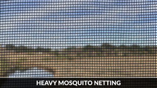 Raw Heavy Mosquito Mesh