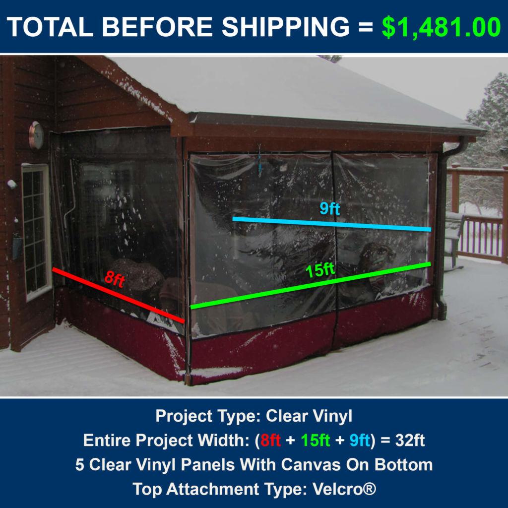 Clear Plastic Porch Enclosures
