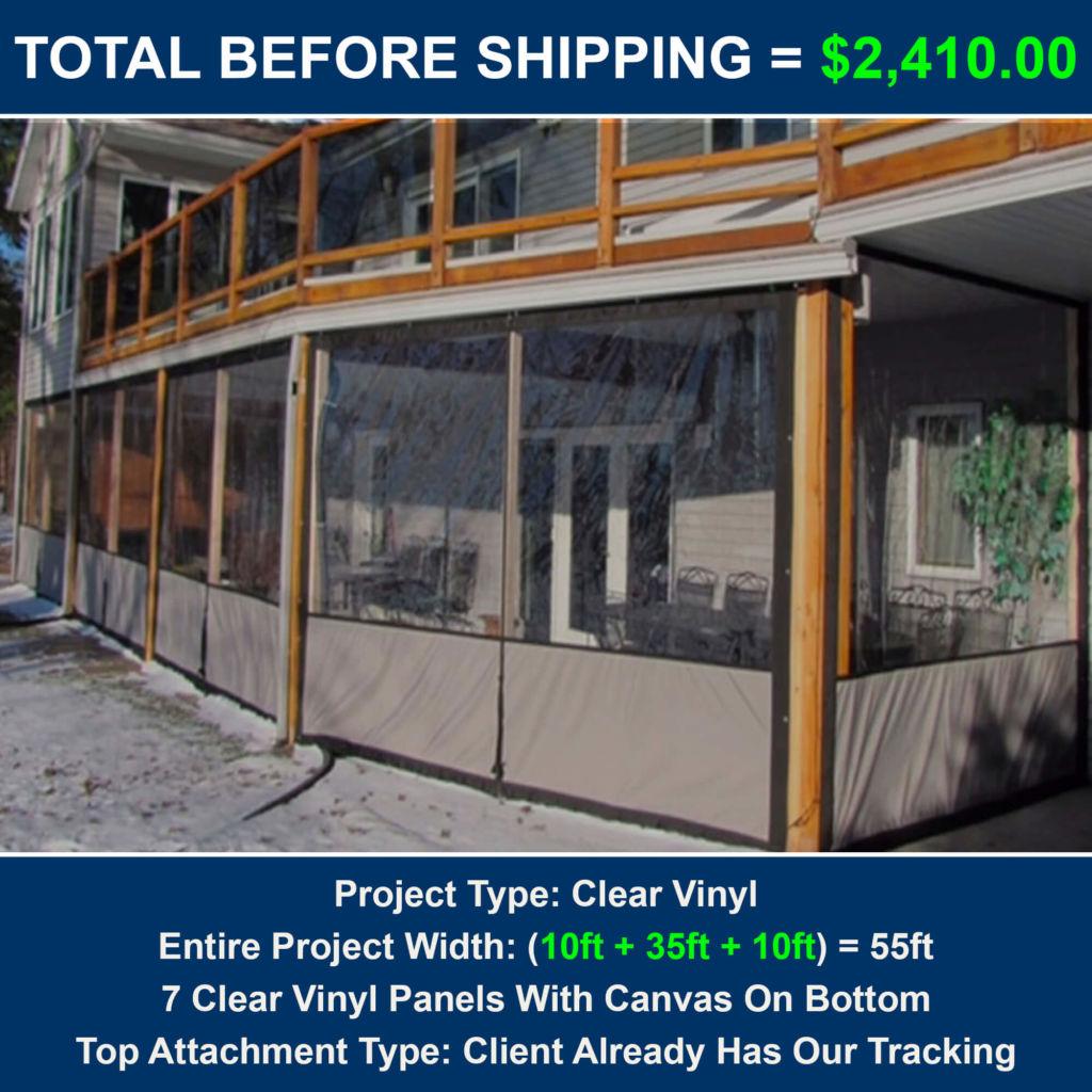 Clear Vinyl Porch Enclosures