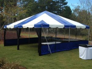 how to keep mosquitoes out of an event tent