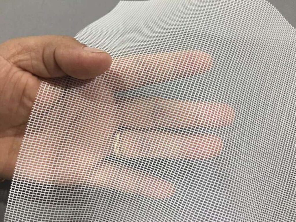 ivory mosquito net fabric
