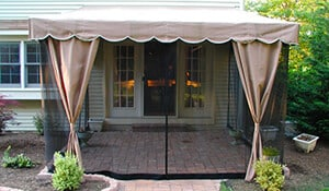Mosquito Netting for Awning Screens
