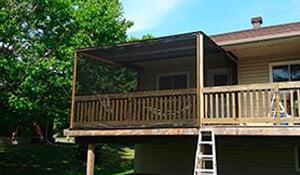 Deck Screen Porch Enclosure
