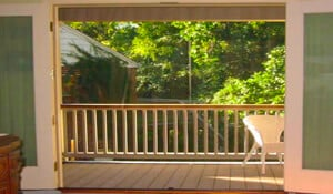 Screen enclosures for French Doors