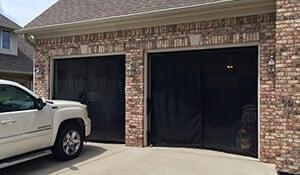 Transform garage into screen porch enclosure