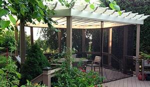 Mosquito Netting for Pergola screen enclosures