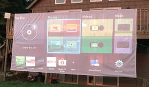 Outdoor Projection Screens