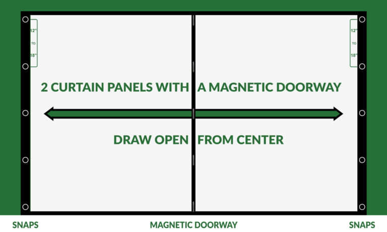 Garage door screens option 2