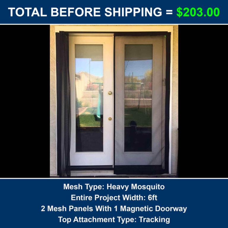 Cost of French Door Screen