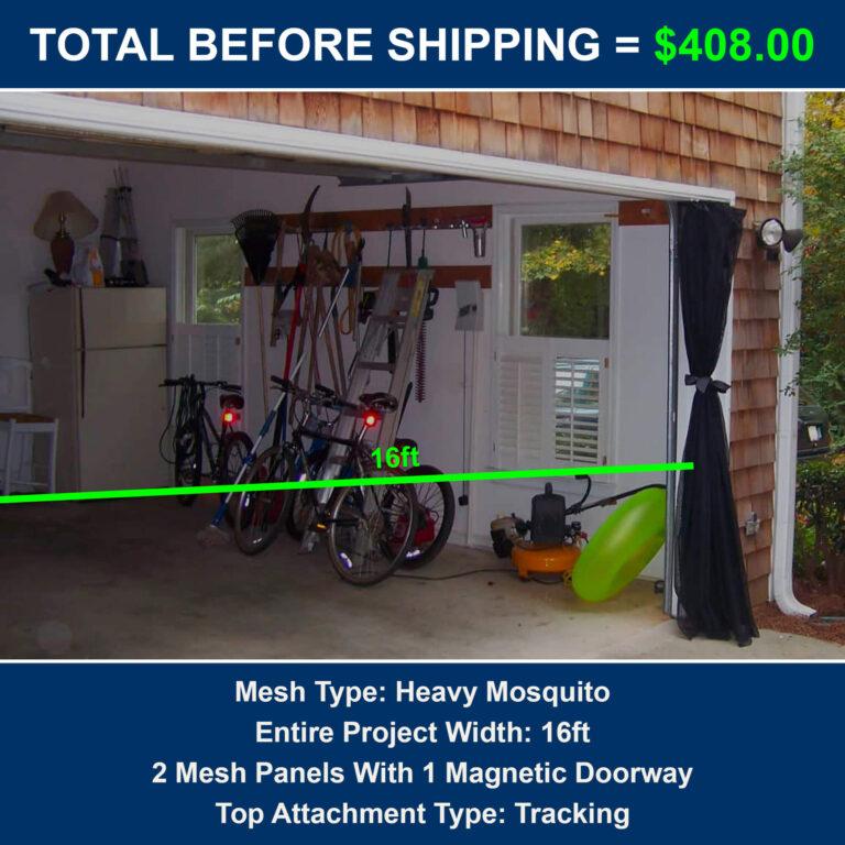 Cost to Screen Garage Door
