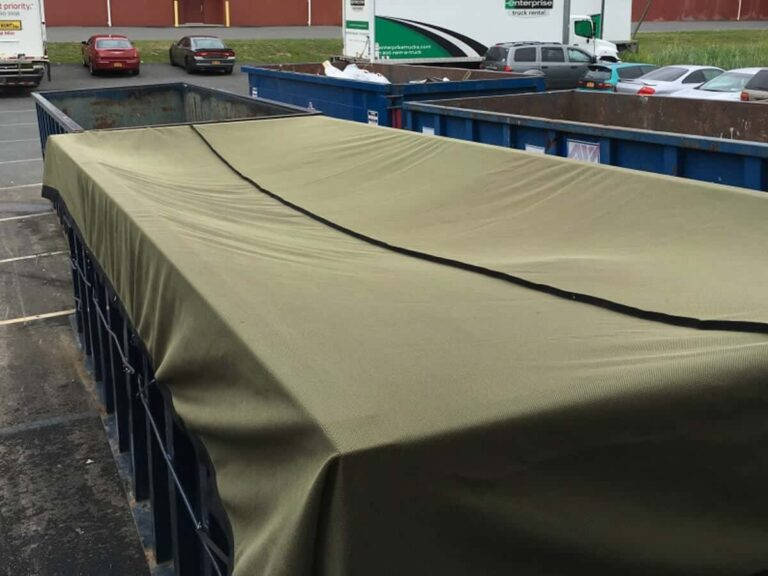 Container Netting for large dumpster