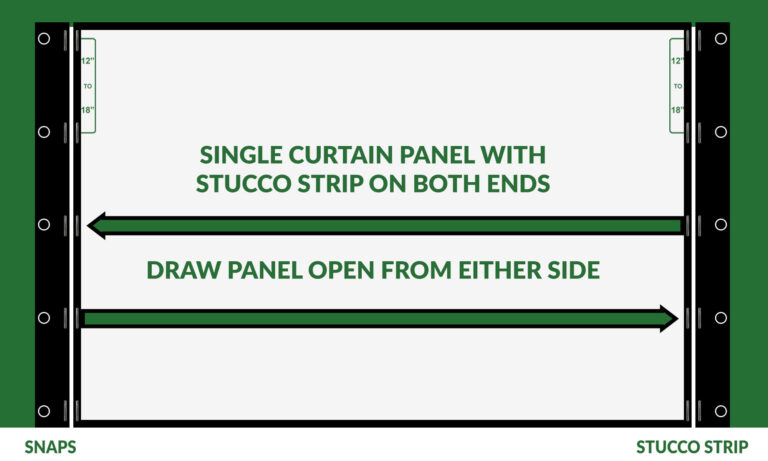 Custom French door screens